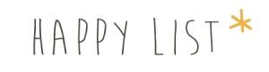liste du bonheur