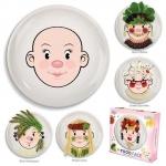 Assiettes créatives pour enfants