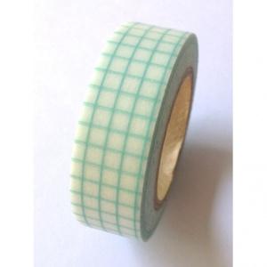 masking tape carreaux mint