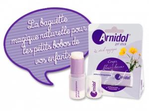 Arnidol, la baguette magique pour les petits bobos