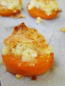 abricot roti aux amandes
