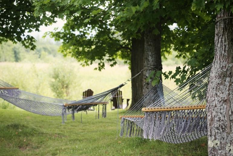 Le plaisir de la sieste en août