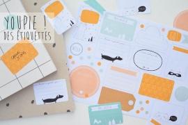 etiquette cahier