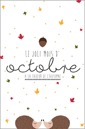 Carte postale octobre