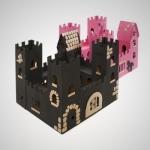Kit créatif chateau fort - Oh c'est beau