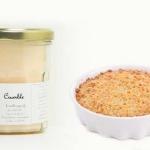Bougie de Charroux - Crumble aux pommes