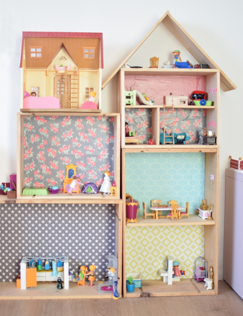 Diy une maison pour playmobil la vie en plus joli for Photos maison playmobil
