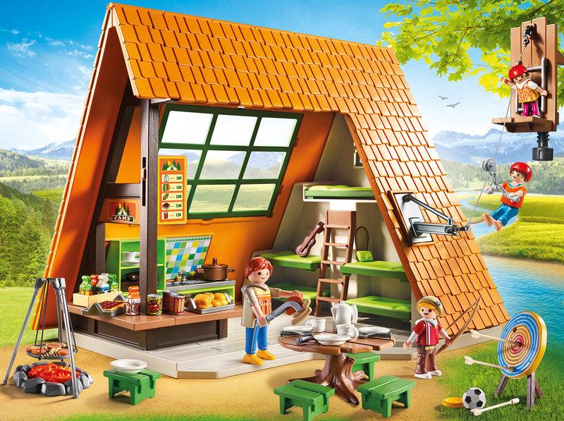 diy une maison pour playmobil la vie en plus joli. Black Bedroom Furniture Sets. Home Design Ideas