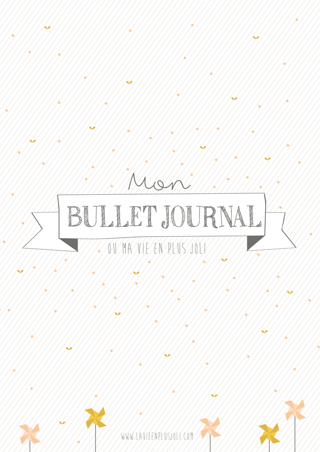 Printable Bullet Journal