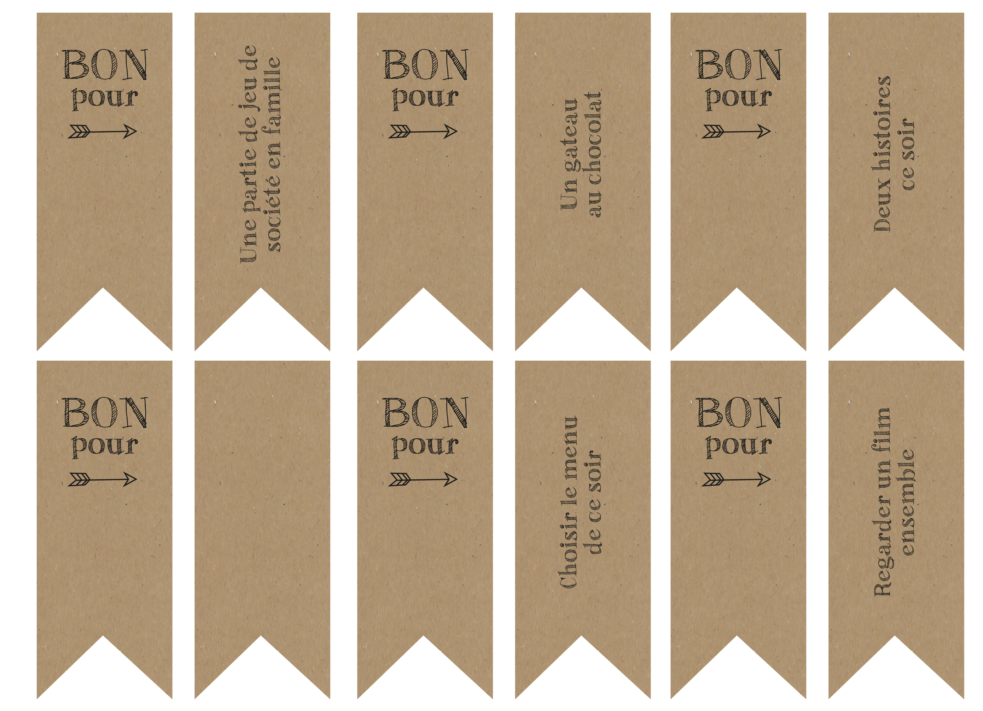 printable et diy un calendrier de l 39 avent la vie en plus joli. Black Bedroom Furniture Sets. Home Design Ideas