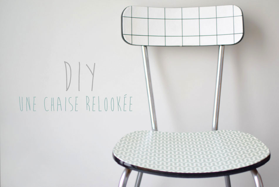 diy relooker une chaise formica la vie en plus joli. Black Bedroom Furniture Sets. Home Design Ideas