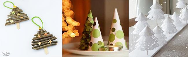 Idées de bricolages de Noël pour enfants