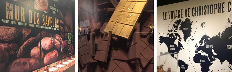 Parcours didactique de la chocolaterie Darcis