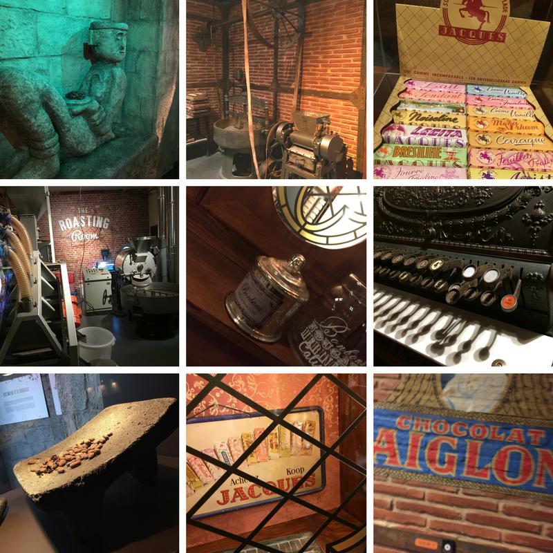 Visite du musée du Chocolat Darcis à Verviers