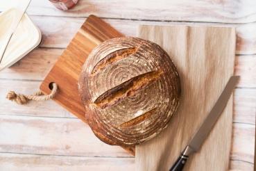 Pain au levain et smørrebrød