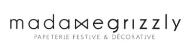 Madame Grizzly - Papeterie festive, décorative et accessoires poétiques