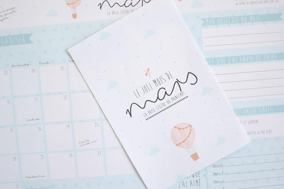 Calendrier Du Mois De Mars Imprimer La Vie En Plus Joli