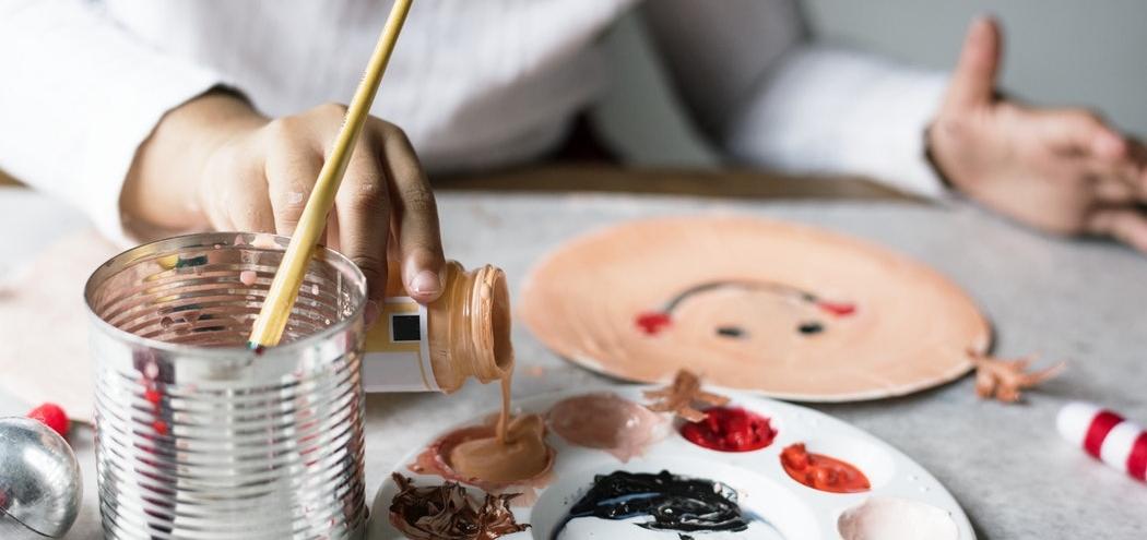Moments calmes pour enfants - La peinture