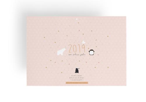 Calendrier 2019 La vie en plus joli & Madame Grizzly