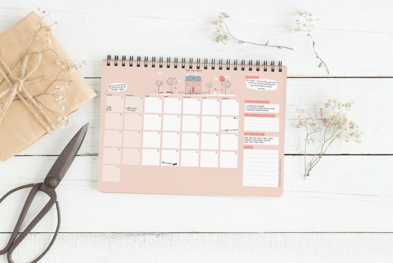 calendrier – La vie en plus joli